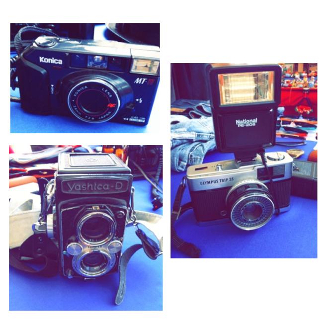 Buy his cameras: 1) Konica: http://taps.io/KOoA   2) Olympus 35 http://taps.io/J9QQ  3) Yashica http://taps.io/J-RA