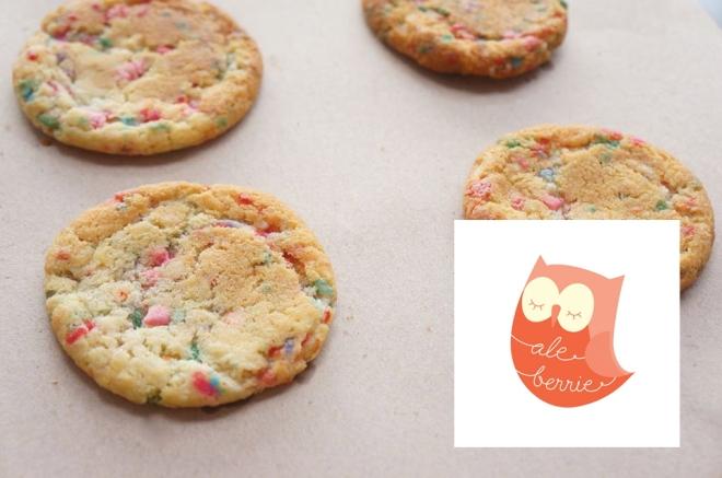 Ale Berrie's confetti cookies!