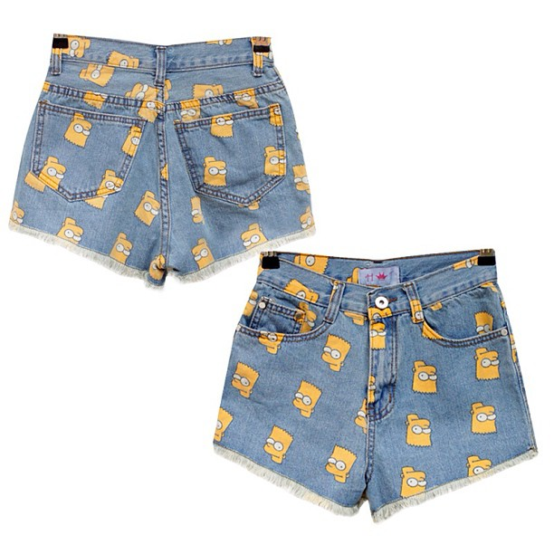 Bart Simpson Shorts (Singapore) $10 http://taps.io/K37A