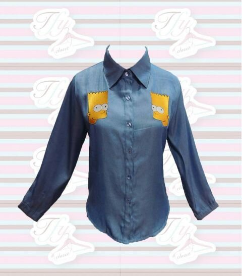 Simpson Denim BLouse
