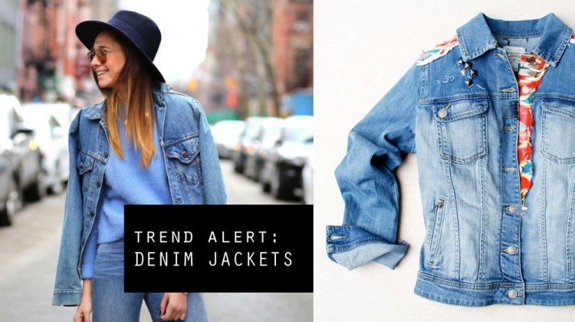 3 Stylish Ways To Wear A Denim Jacket