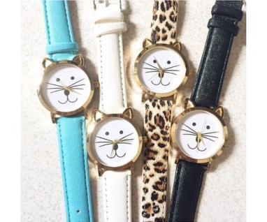 Leather watches from @nicagarcia