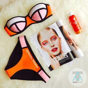 Peach Soda Bikini from @arashistreasures
